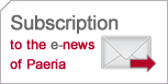Subscription to the e-news of Paeria