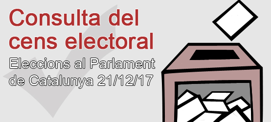 Consultation of the electoral roll
