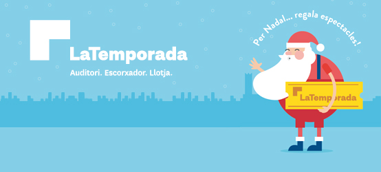 This Christmas ... Offer shows, give away LaTemporada Lleida