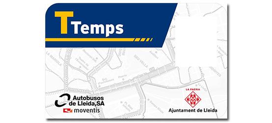 TTemps the new card free public transport