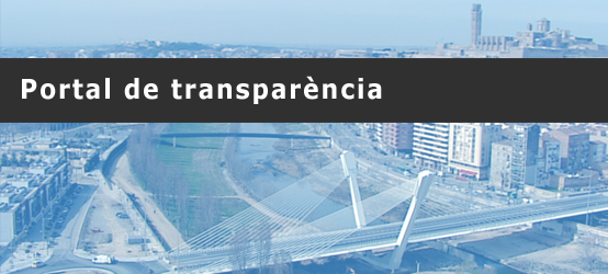 Portal of transparency of the City Council of Lleida